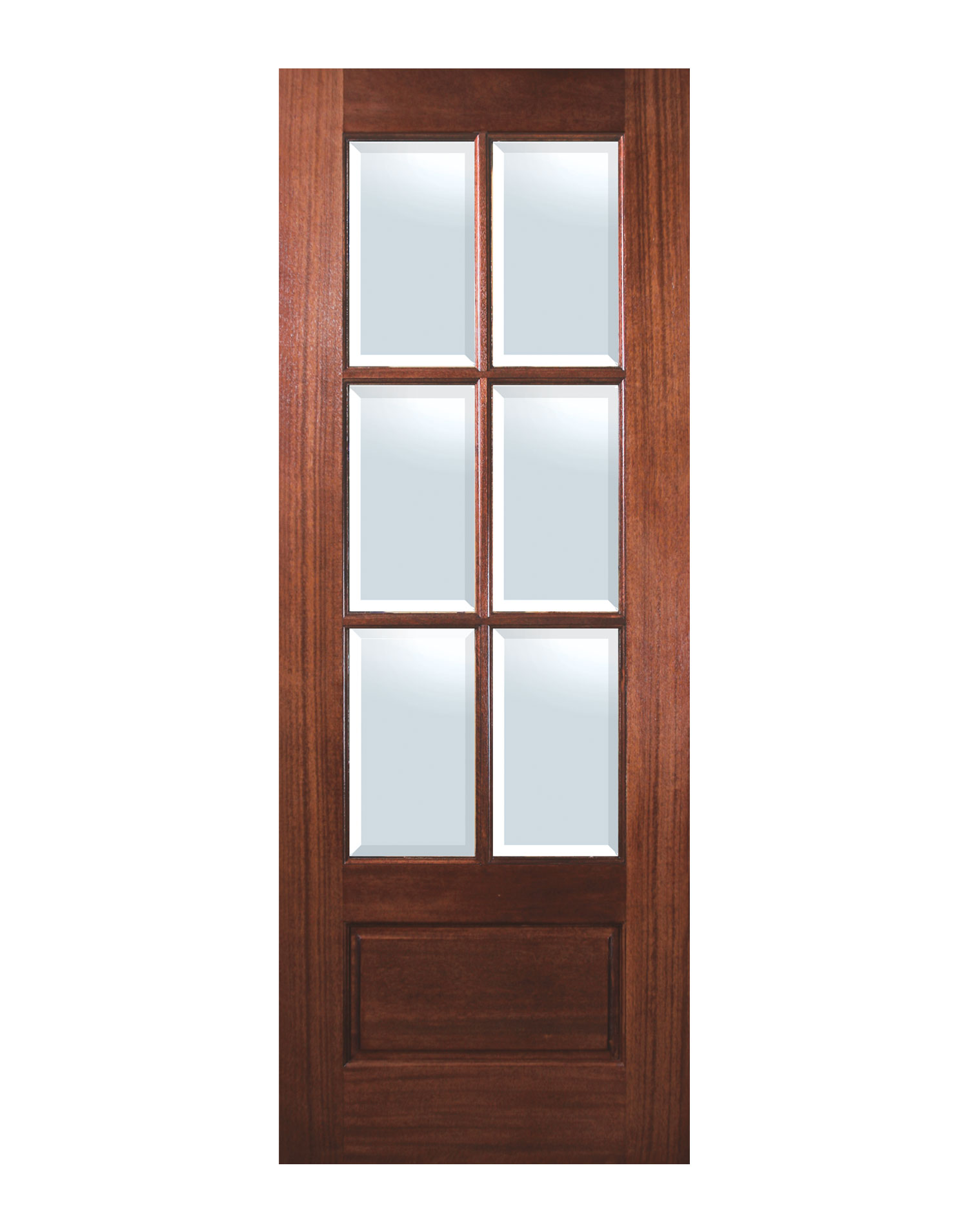 Mahogany Front Door With Glass Home - Front Doors